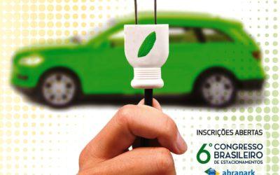Nova edição da revista Parking Brasil destaca o advento dos carros elétricos