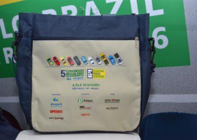 Bolsa recebida por todos os inscritos no 5o. Congresso Brasileiro de Estacionamentos - IPI International Parking Conference