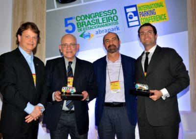 André Piccoli, Alexandre Appel, Sergio Morad e Paulo Bosisio