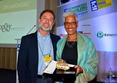 Jorge Novaes e Kim Jackson