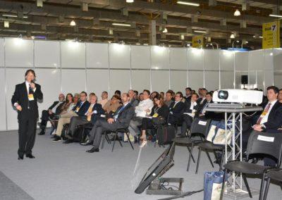 André Piccoli, vice-presidente de assuntos institucionais da Abrapark, participou do primeiro painel