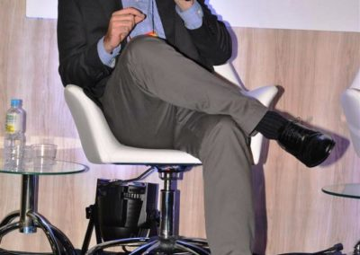 Bernardo Ferreira, especialista de Indústrias Avançadas da McKinsey & Company, no debate sobre Tendências em Tecnologia