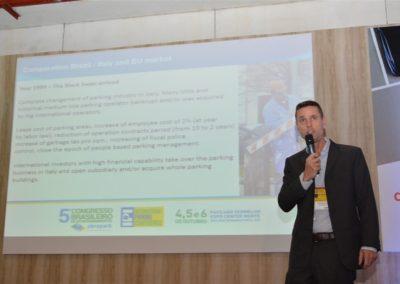 Stefan Roda, Diretor Geral da SKIDATA do Brasil, também no debate de Tendências em Tecnologia
