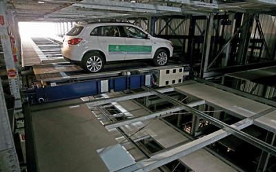 Primeira garagem robotizada do Brasil