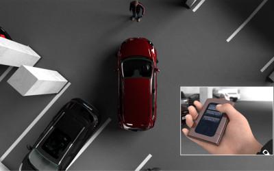 Ford desenvolve controle remoto para estacionar carros