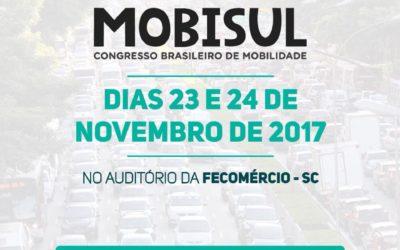 2º Mobisul – Congresso Brasileiro de Mobilidade começa nesta quarta
