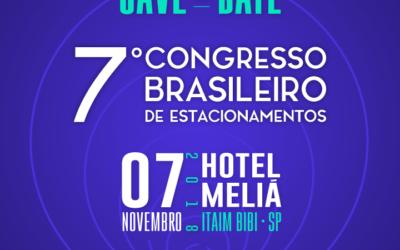 7º Congresso Brasileiro de Estacionamentos: inscrições seguem abertas