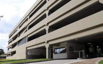 Novo edifício-garagem com 1.050 novas vagas de estacionamento inaugura no Aeroporto Salgado Filho