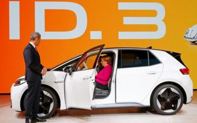 Frankfurt transforma-se no salão dos carros elétricos