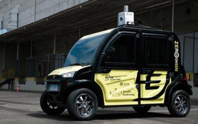 Hitech Electric lança primeiro carro elétrico  autônomo do Brasil